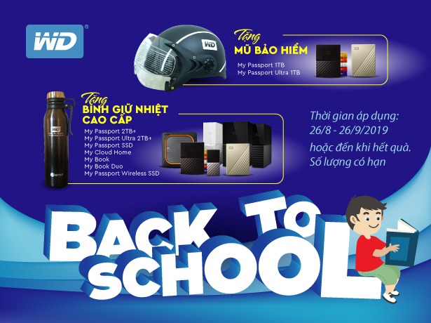 BACK TO SCHOOL - WD