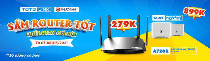 Sắm router tốt-chốt ngay giá hời