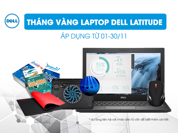 THÁNG VÀNG DELL LATITUDE