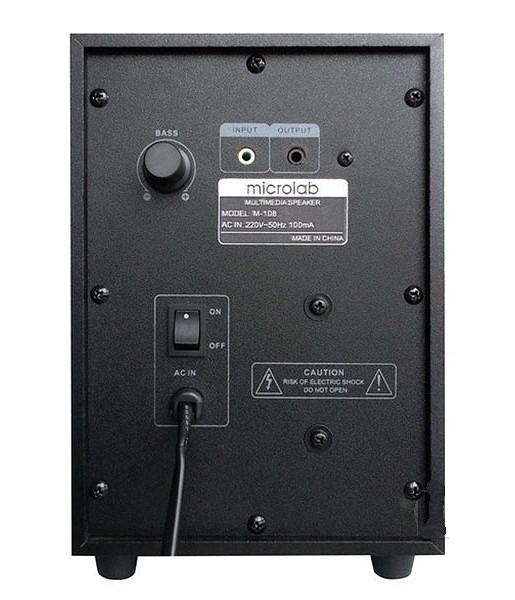 Loa Microlab 2.1 M108