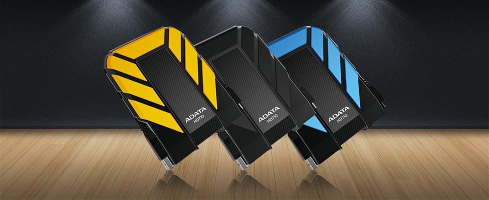 Ổ cứng di động Adata HD710 1Tb USB 3.0 - Xanh