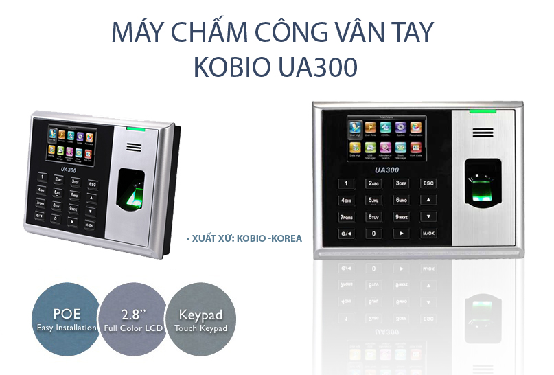 may-cham-cong-kobio-ua300c-van-tay-the