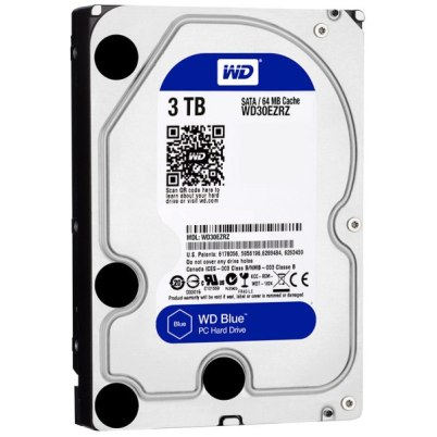 Ổ cứng HDD Western Blue 3Tb SATA3 5400rpm
