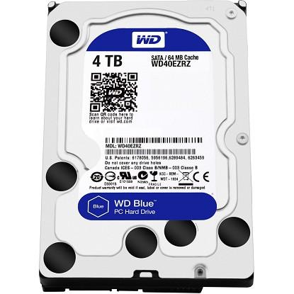 Ổ cứng HDD Western Blue 4Tb SATA3 5400rpm