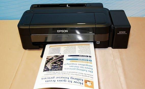Epson L310 vận hành êm ái