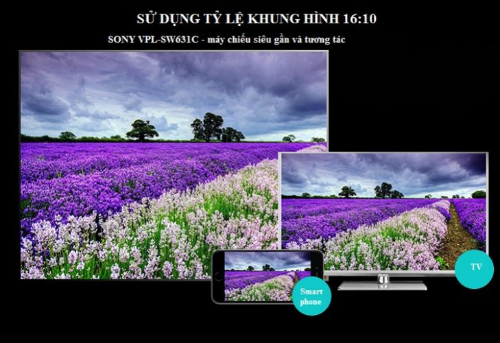 Máy chiếu Sony VPL-SW631C
