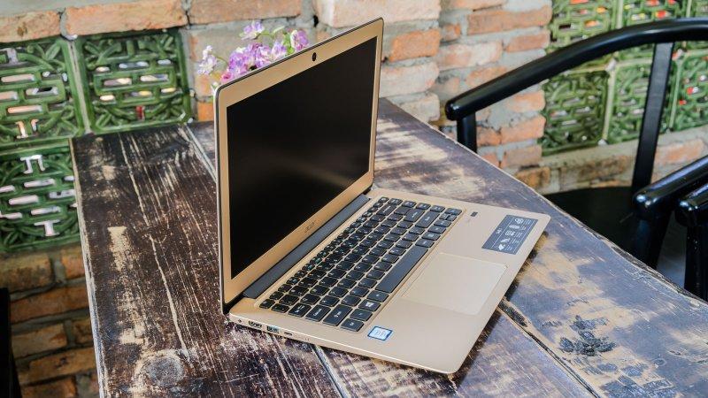 Máy tính xách tay Acer Swift 3 SF314-51-38EE NX.GKKSV.001 (Gold)