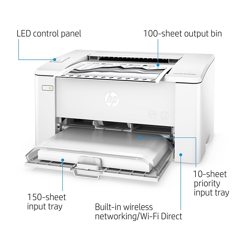 Máy in laser đen trắng HP LaserJet Pro M102w - G3Q35A
