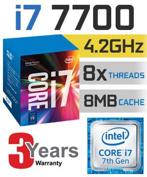 CPU Intel Core i7 7700