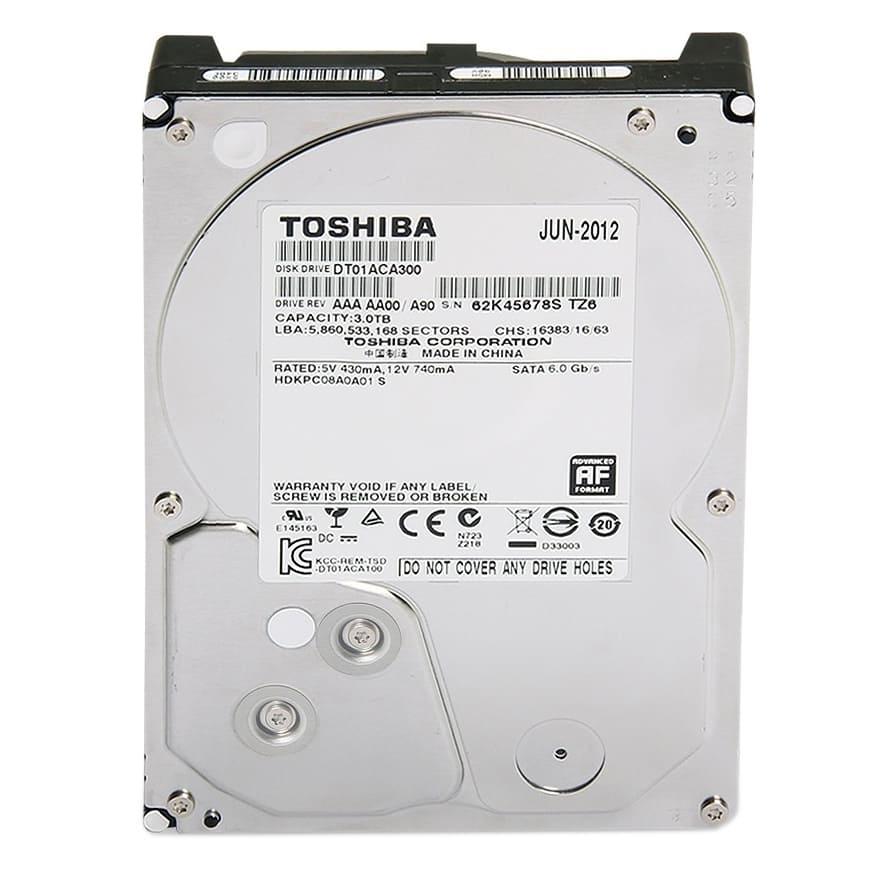 Ổ cứng HDD Toshiba  3Tb 7200rpm