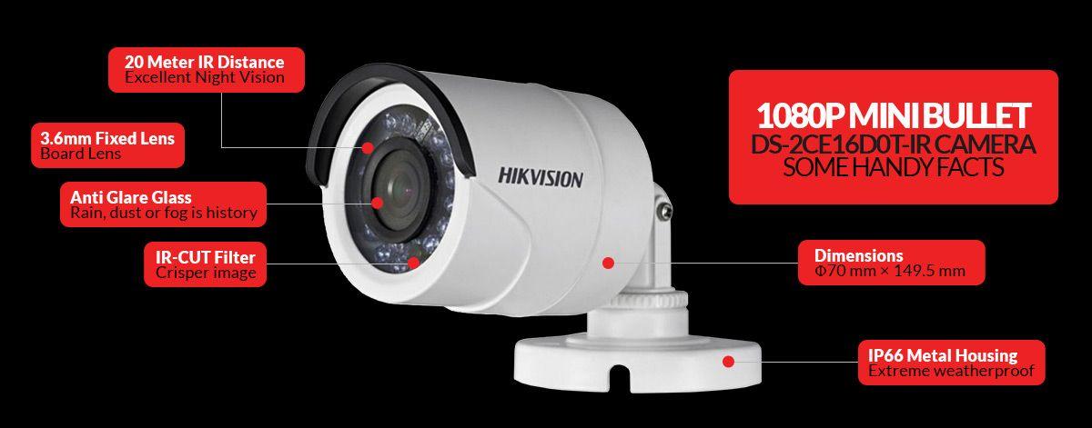 Hikvison DS-2CE16D0T-IR