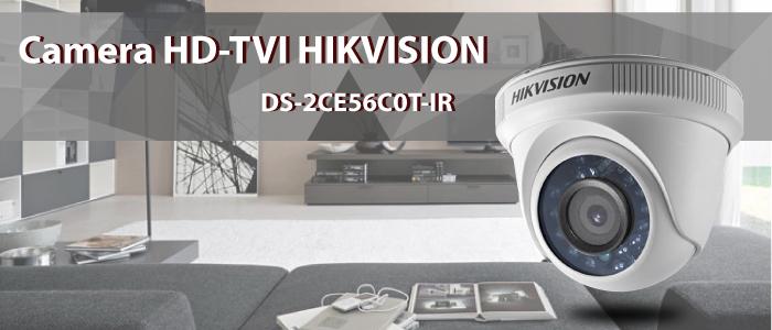 Camera quan sát bán cầu Hikvison DS-2CE56C0T-IR