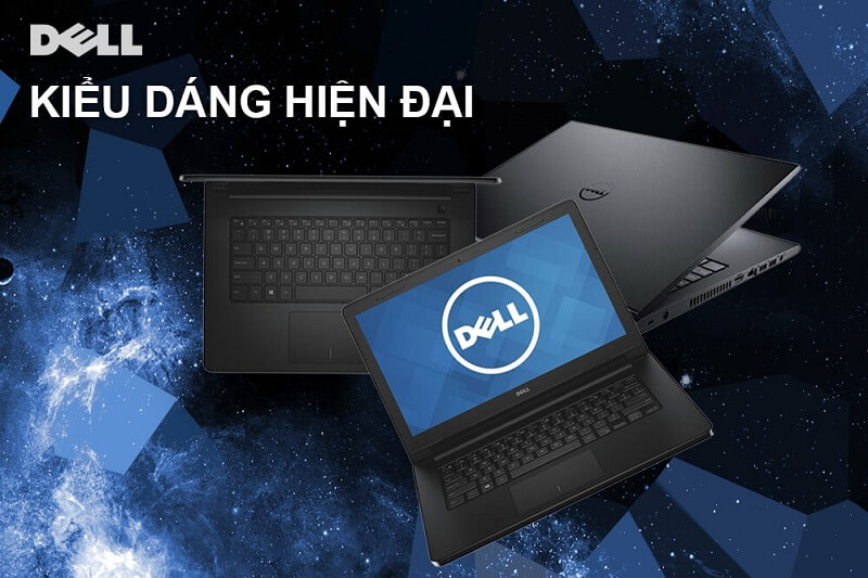 Laptop Dell Inspiron N3467-C4I51107 (Black)