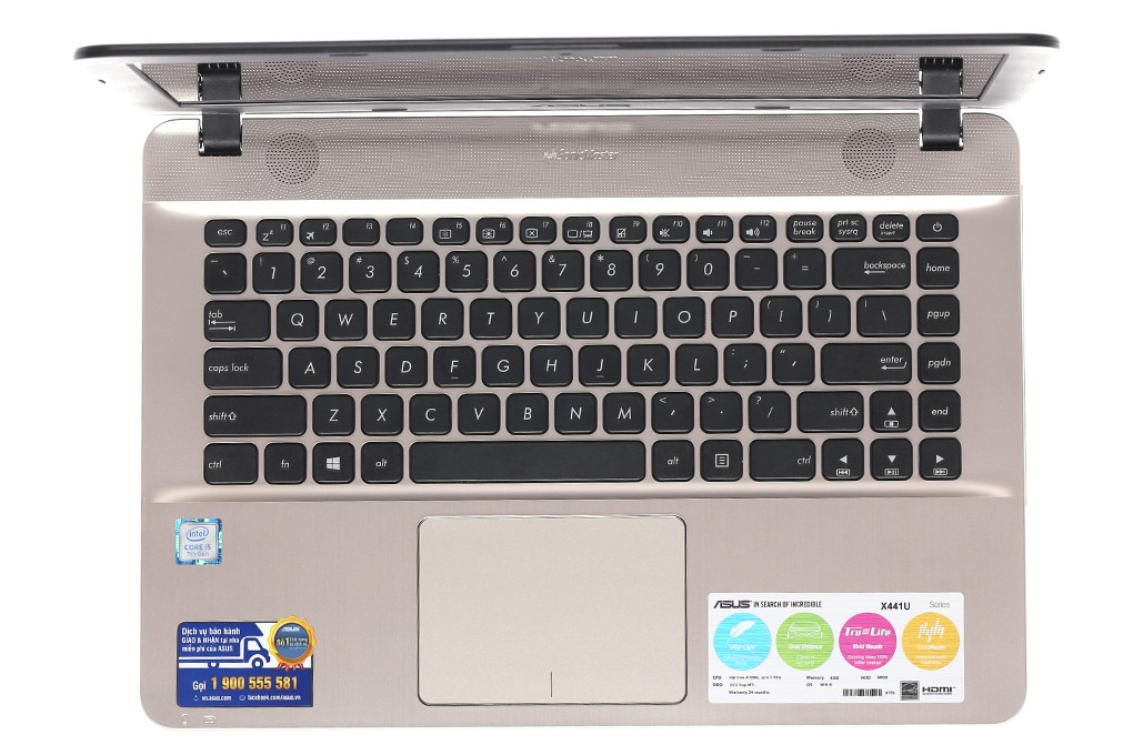 Laptop Asus X441UA-GA056T (Black)