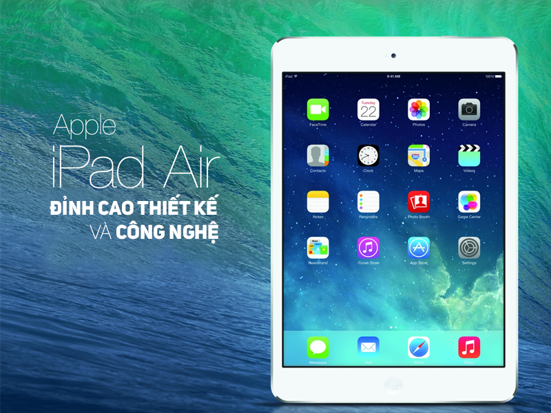 Apple iPad Air 1 Retina Cellular (Silver)- 16Gb