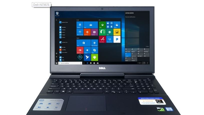 Laptop Dell Gaming Inspiron 7567E-P65F001