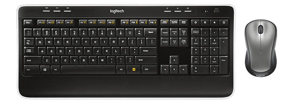 Bộ bàn phím chuột không dây Logitech MK520 USB-Wireless
