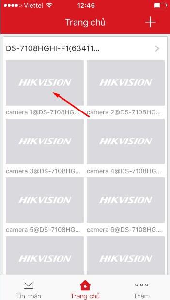 Cach xem camera tren dien thoai Android, IOS h12