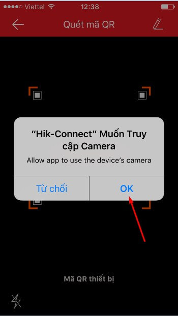 Cach xem camera tren dien thoai Android, IOS h8