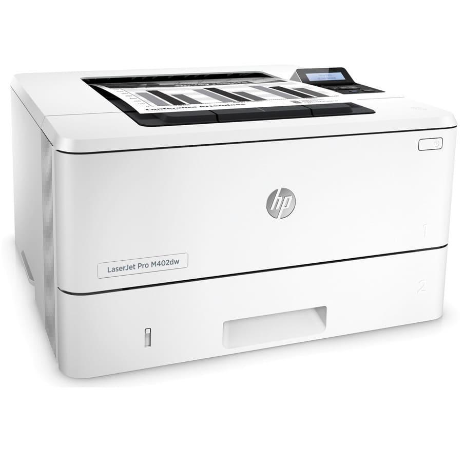 Đánh giá máy in laser đen trắng HP M402D C5F92A: In nhanh, bảo vệ mạnh mẽ, tiết kiệm năng lư