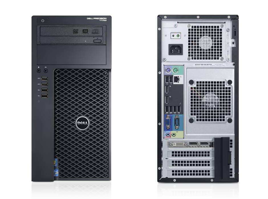 Máy tính trạm Dell T1700 MT chuyên sử lý đồ họa
