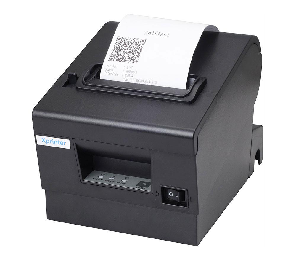 Máy in hóa đơn siêu thị XPrinter Q200 – Độ bền cao giá rẻ trong tầm tay