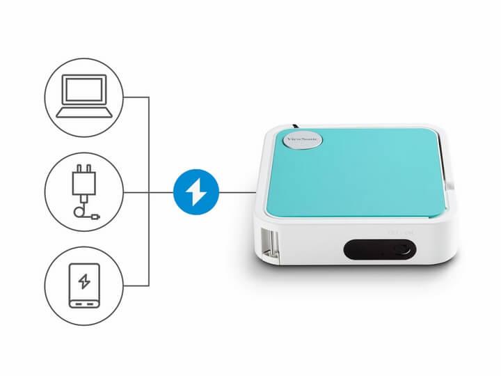 ViewSonic giới thiệu M1 Mini - Máy chiếu LED bỏ túi mới nhất