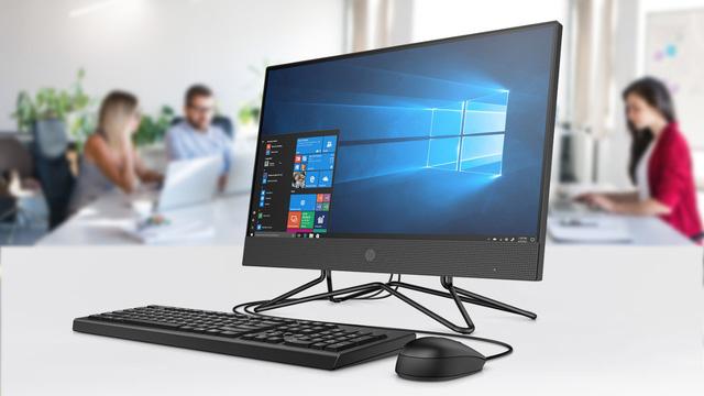 Công nghệ] HP 200 Pro G4 22 All in one - Tối giản không gian làm việc của  bạn