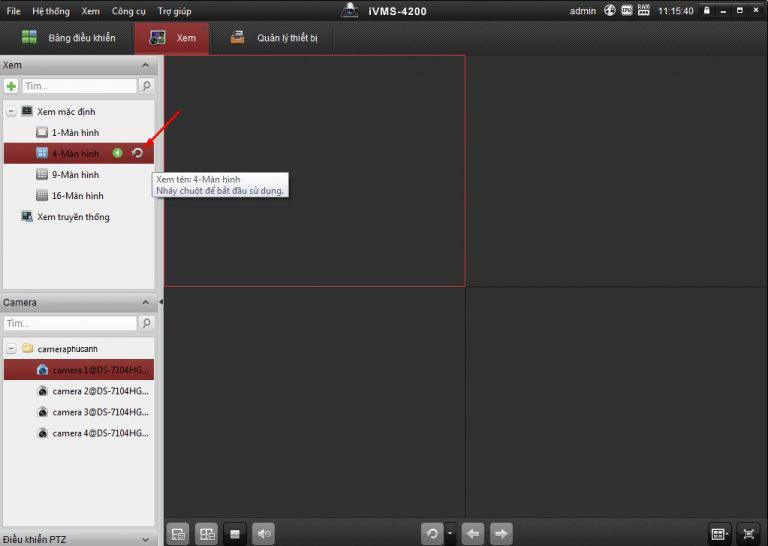 Xem camera Hikivision bằng phần mềm iVMS 4200