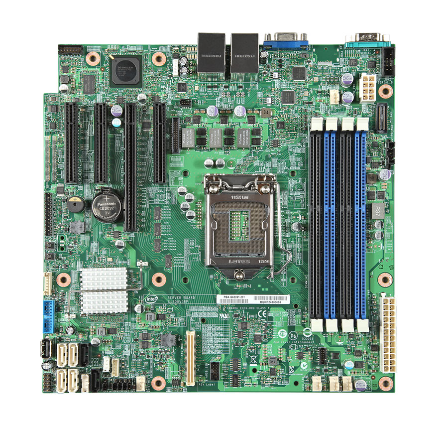 Intel DBS1200V3RPS (Chipset Intel C222/ Socket SK1150/ VGA onboard)_001
