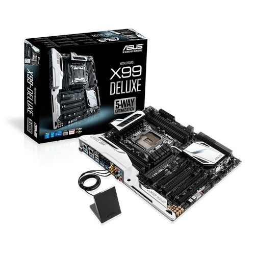Mainboard Asus X99 Deluxe Chipset Intel X99 Socket SK2011 3 VGA onboard