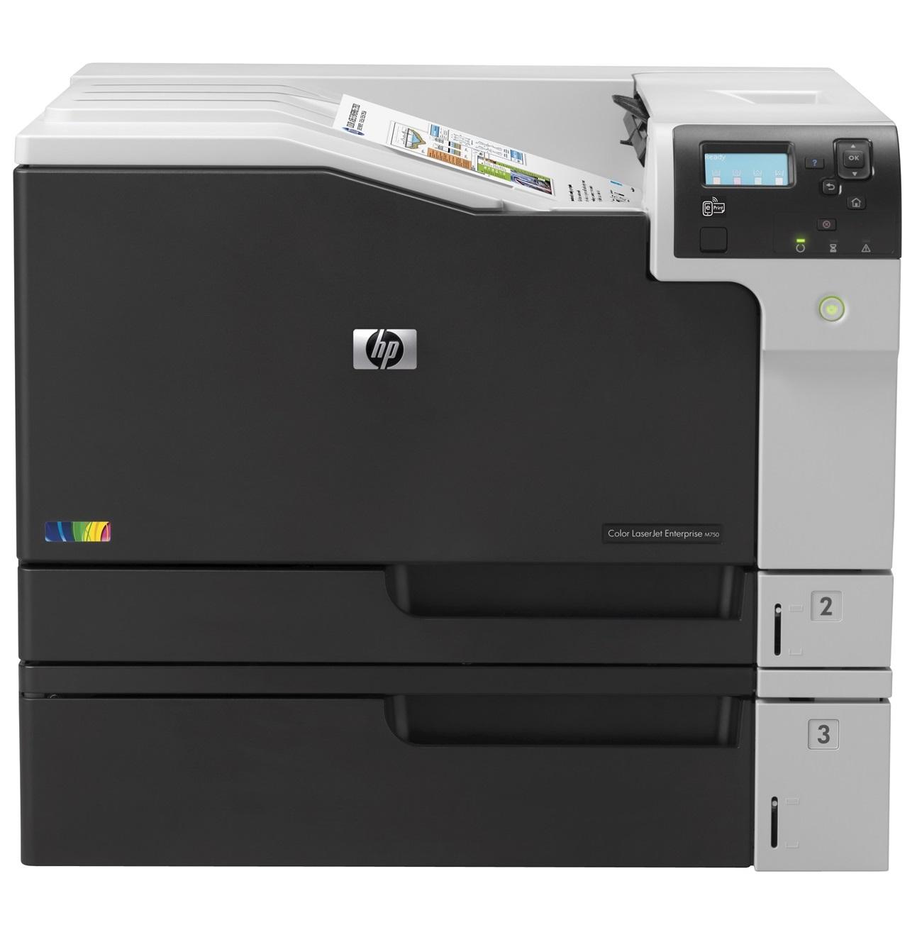 Máy in laser màu HP M750N- D3L08A