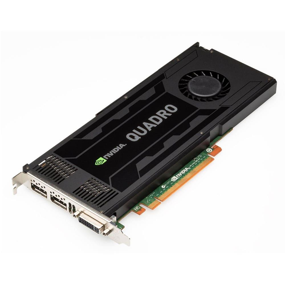 VGA CARD LEADTEK NVIDIA QUADRO K4000 3GB DDR5 192BIT PCI EX 16X 3 0