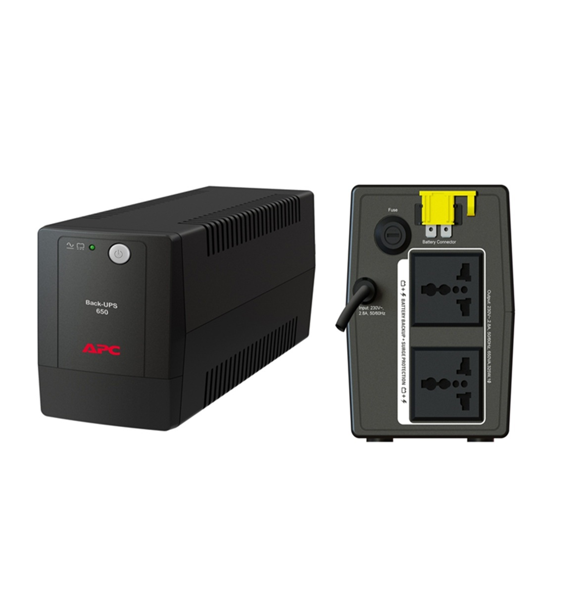APC BACK-UPS 650VA (BX650LI-MS)