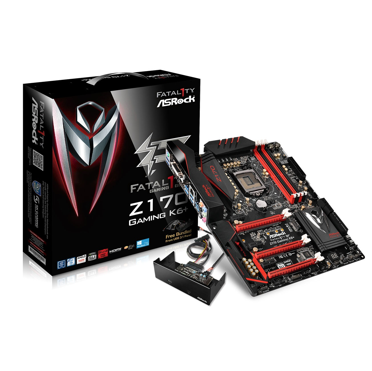Asrock Z170 Gaming K6+ (Chipset Intel Z170/ Socket LGA1151/ VGA onboard)