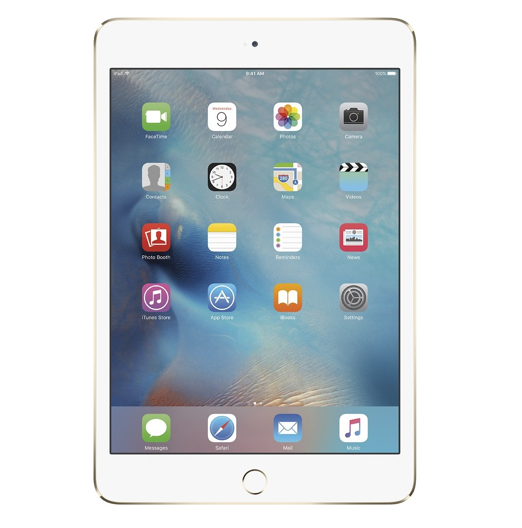 Apple iPad mini 4 Retina Cellular (Gold)