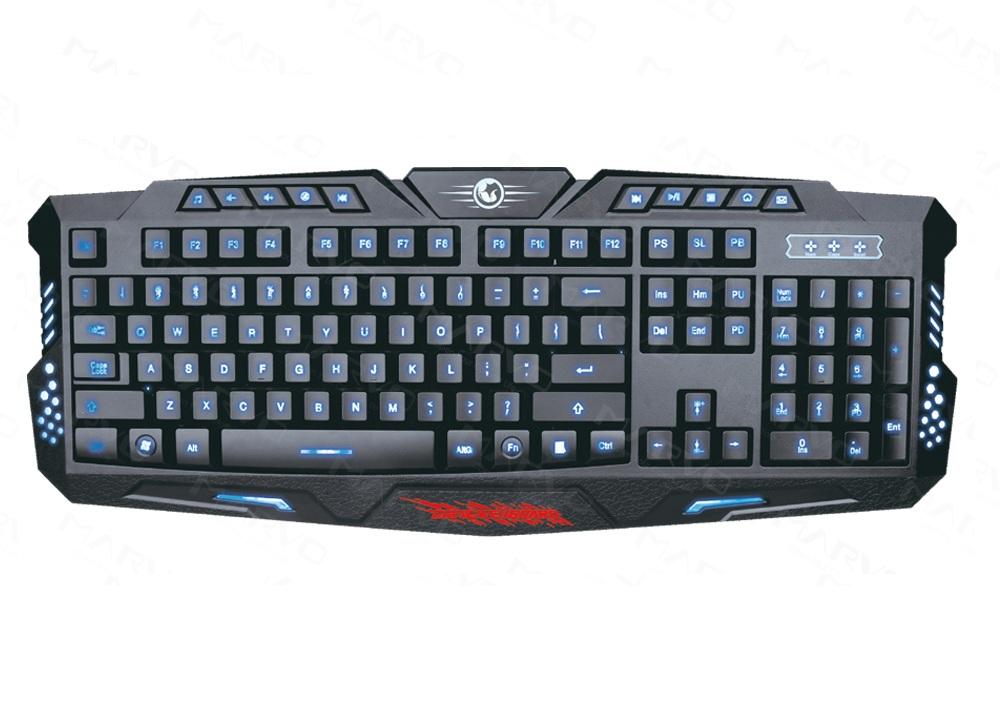 Bàn phím máy tính Marvo K636 Đen