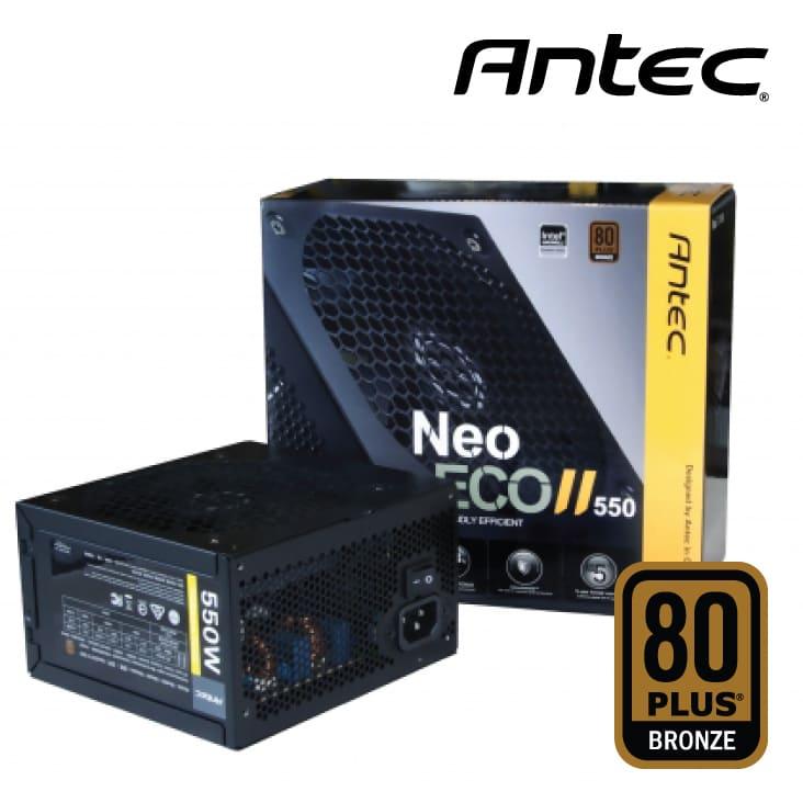 Nguồn Antec Neo ECO II 550W 80 Plus