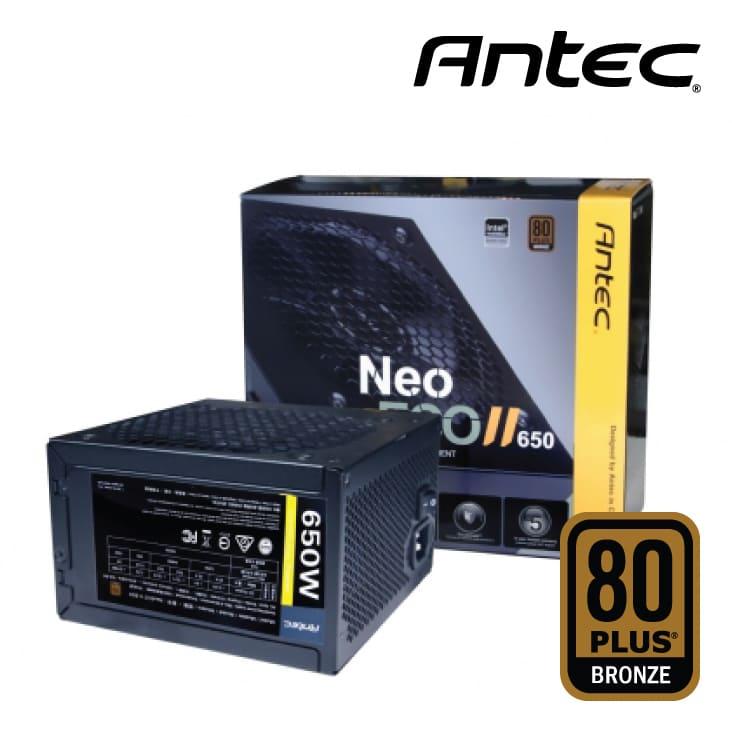 Nguồn Antec Neo ECO II 650W 80 Plus