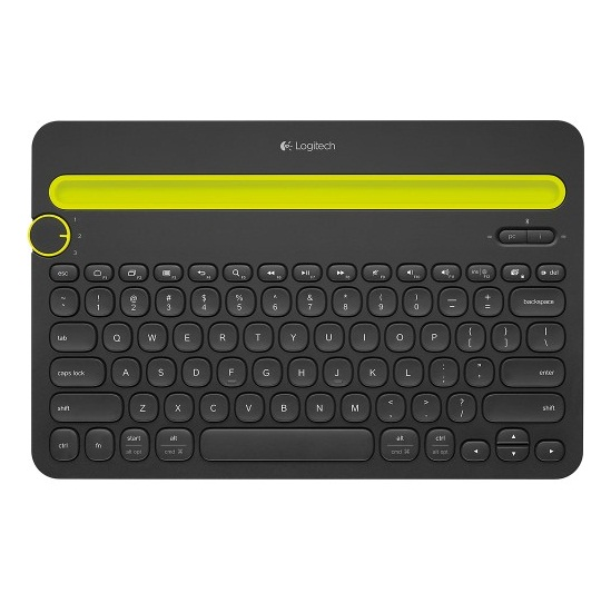 Bàn phím không dây Logitech K480 Màu đen (Bluetooth, Không dây )