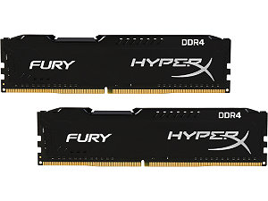 RAM Kingston 8Gb (2x4Gb) DDR4-2400- HX424C15FBK2/8