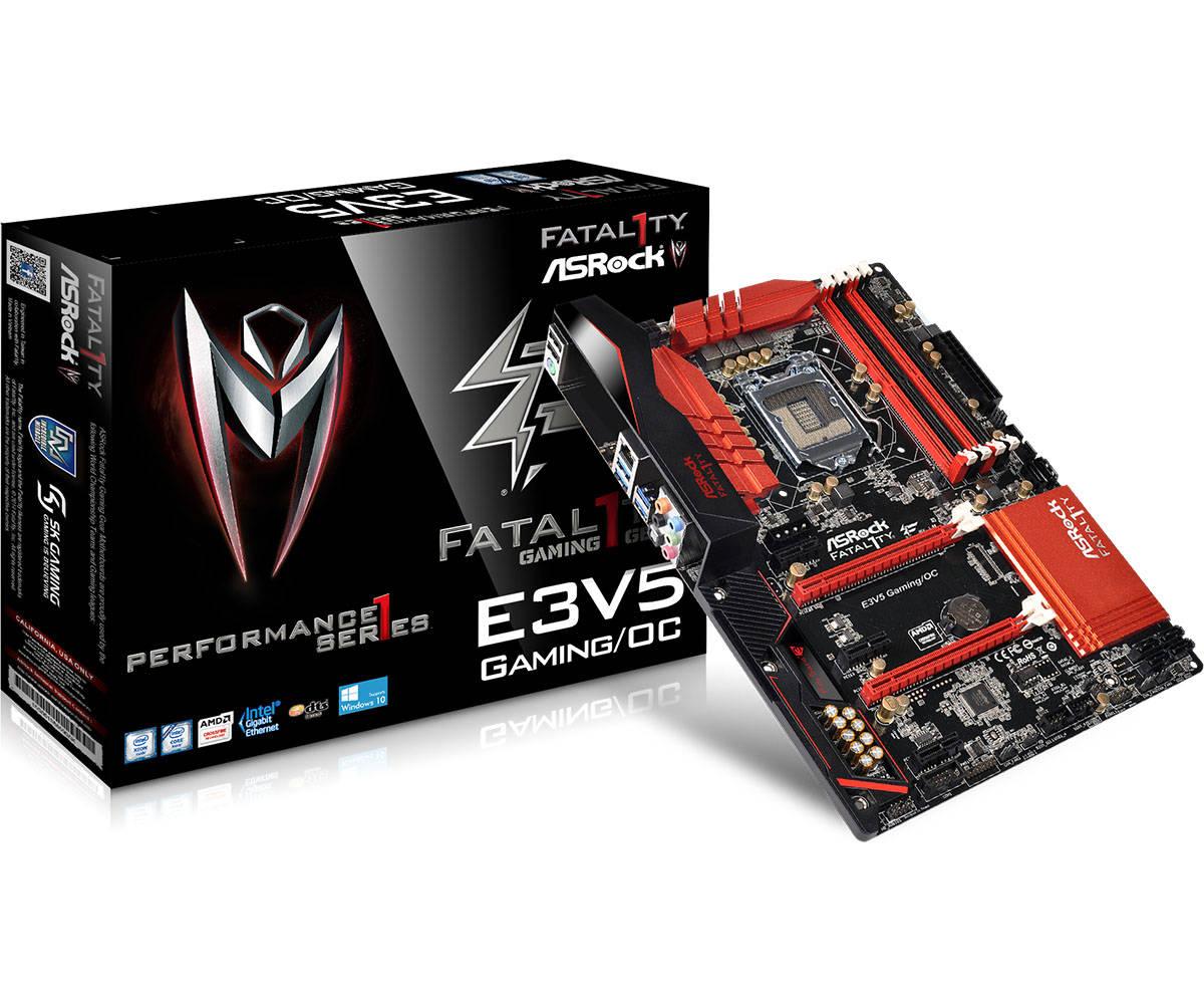 Mainboard Asrock E3V5 Performance Gaming OC Chipset Intel C232 Socket LGA1151 VGA onboard