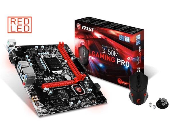 Mainboard MSI B150M GAMING PRO Chipset Intel B150 Socket LGA1151 VGA onboard