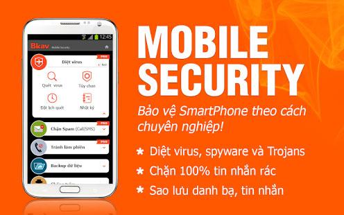 PM diệt virut BKAV Mobile security_001