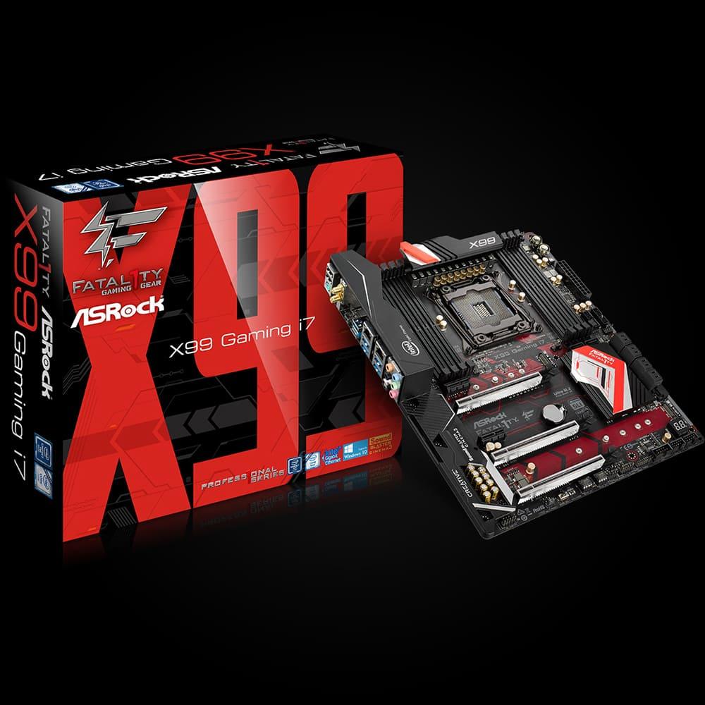 Mainboard Asrock X99 Gaming I7 Chipset Intel X99 Socket LGA2011 3 Không