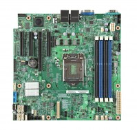 Intel DBS1200V3RPS (Chipset Intel C222/ Socket SK1150/ VGA onboard)