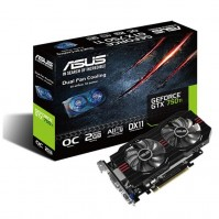 Asus GTX750TI-OC-2GD5 (Geforce GTX750/ 2Gb/ DDR5/ 128Bit)