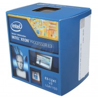Intel Xeon E3 1241V3 (Up to 3.89hz/ 8Mb cache)