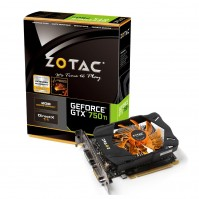 Zotac GTX750TI-2GD5 (Geforce GTX750 Ti/ 2Gb/ DDR5/ 128Bit)
