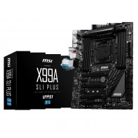 MSI X99A SLI PLUS (Chipset Intel X99/ Socket LGA2011-3/ Không)